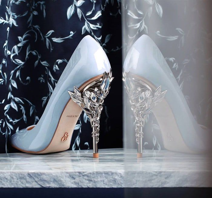 Womens Black Eden High Heel Shoes