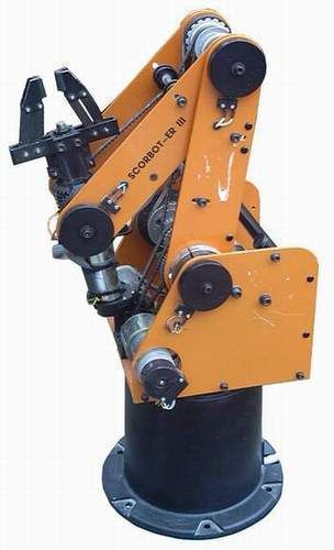 Industrial Robot Arm Design Scorbot er iii robot arm