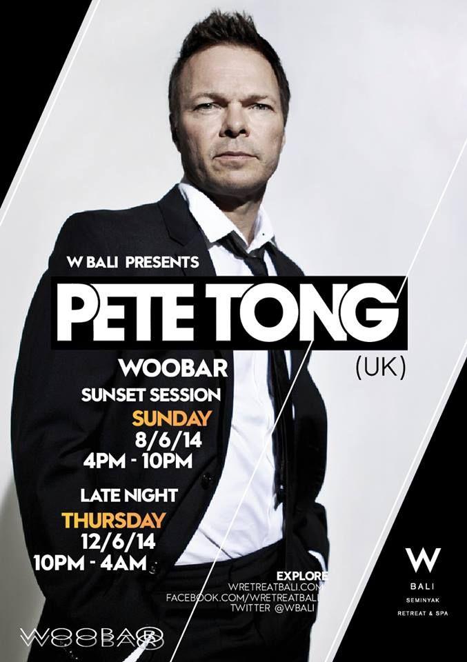 Pete Tong, Woobar, Bali