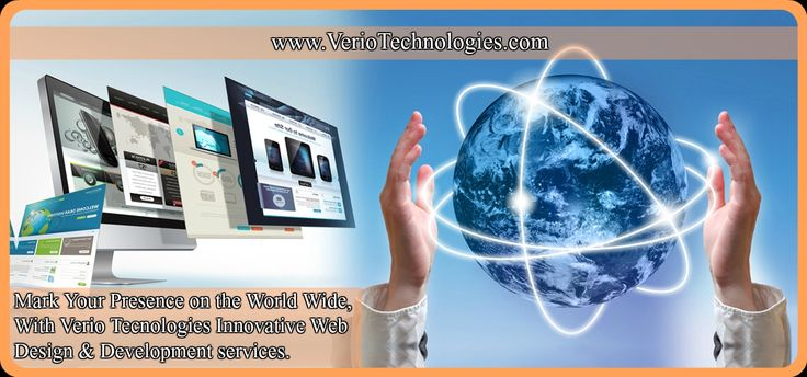 Mark Your Presence on the World Wide , with our innovative #webdesign & #development #services. To know more Visit - http://veriotechnologies.com/ or call - 9876501230