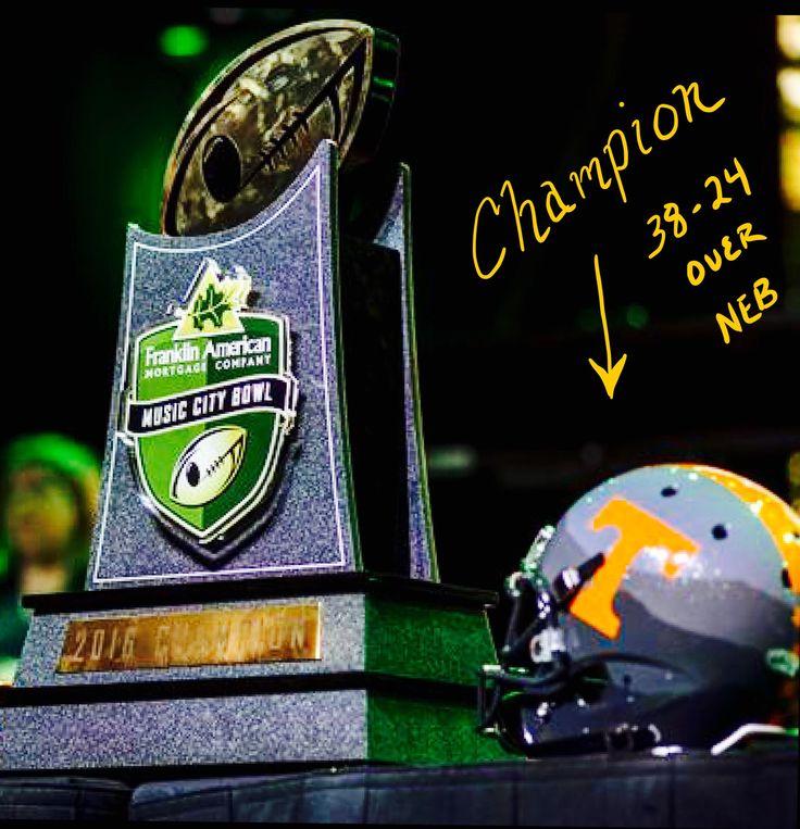 Music City Bowl Champions 12/30/16