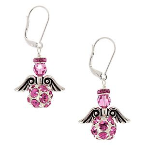 Angel of Strength Earrings | Fusion Beads Inspiration Gallery
