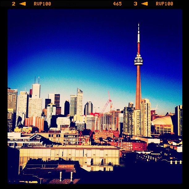 Rooftop view. #Toronto  Photo by Melissa Hetu