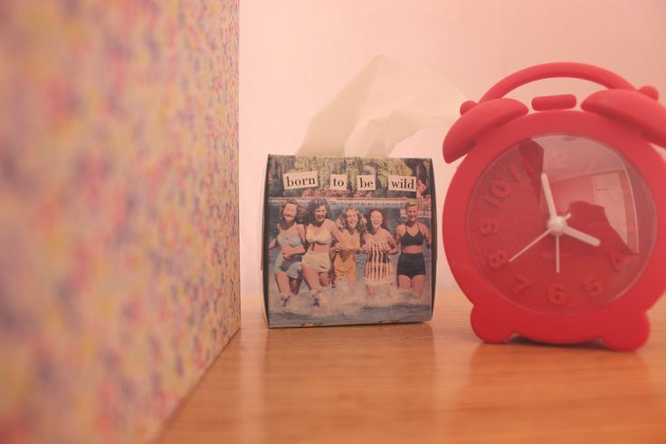 Retro Clocks and Tissue Boxes