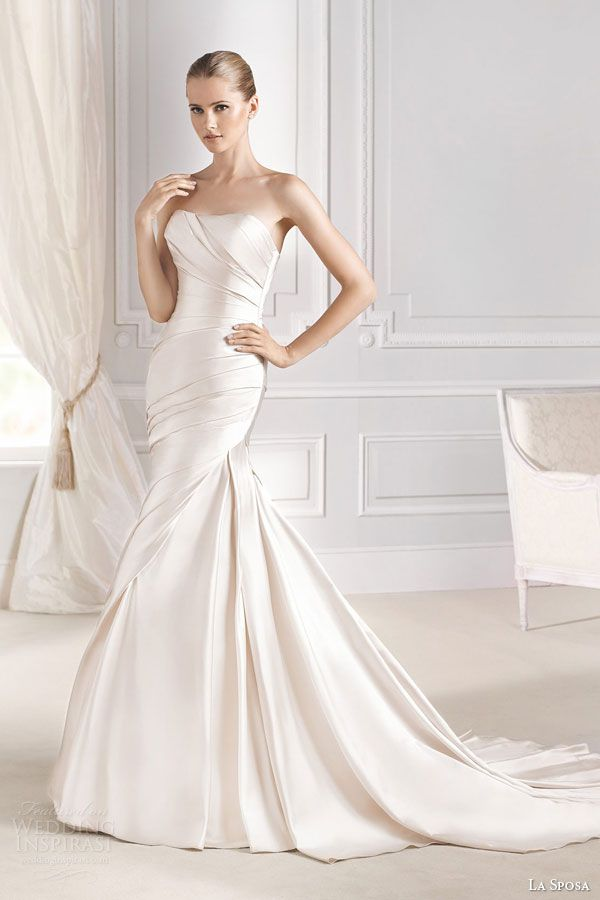 La Sposa 2015 Wedding Dresses — Glamour Bridal Collection | Wedding Inspirasi ~~~~ Quite Sophisticated!