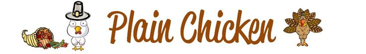 Plain Chicken Recipe Blog