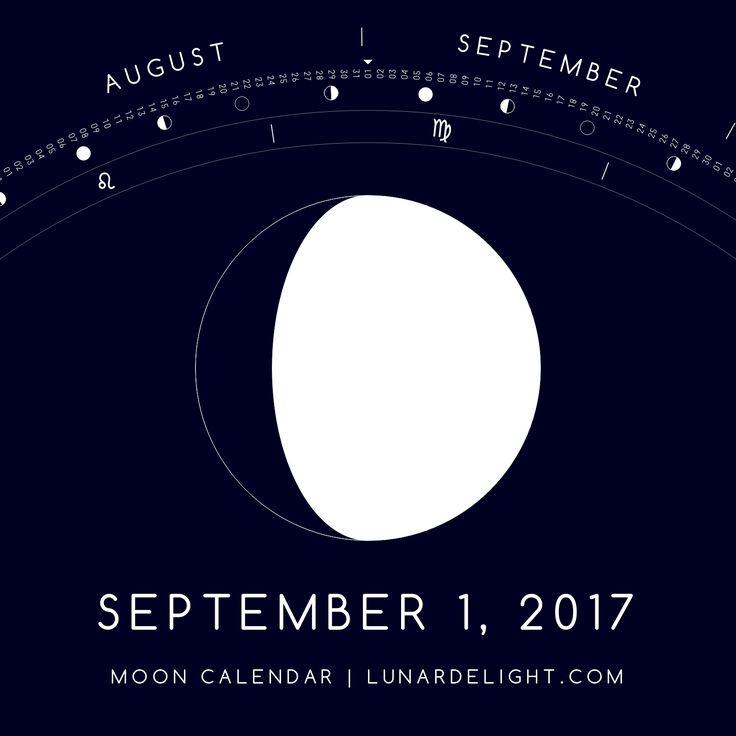 Friday, September 1 @ 10:34 GMT  Waxing Gibboust - Illumination: 78%  Next Full Moon: Wednesday, September 6 @ 07:04 GMT Next New Moon: Wednesday, September 20 @ 05:30 GMT