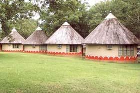 Skukuza Restcamp bungalows