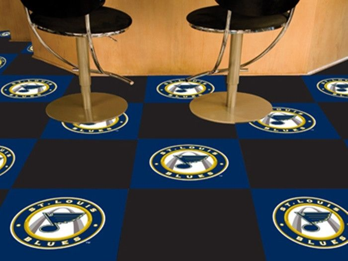Use the code PINFIVE to receive an additional 5% discount off the price of the  St. Louis Blues NHL Carpet Tiles at sportsfansplus.com