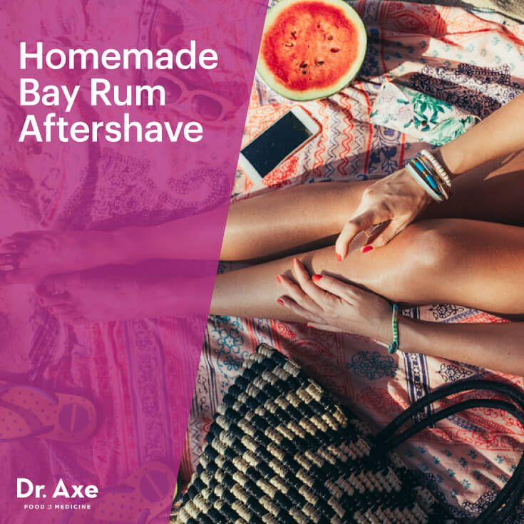 Bay rum aftershave - Dr. Axe http://www.draxe.com #health #holistic #natural