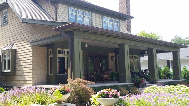 pictures of exterior trim work