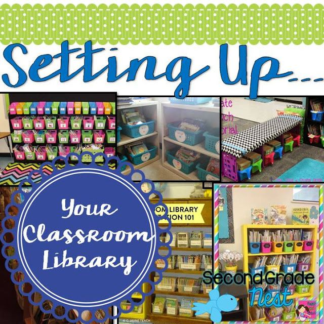 Setting Up... Classroom Library                                                                                                                                                                                 More
