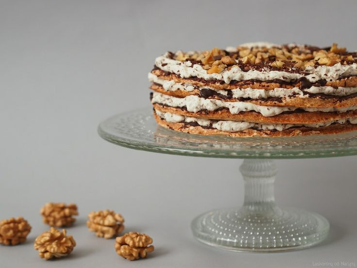 Laskominy od Maryny: Bezé dort s mascarpone krémem