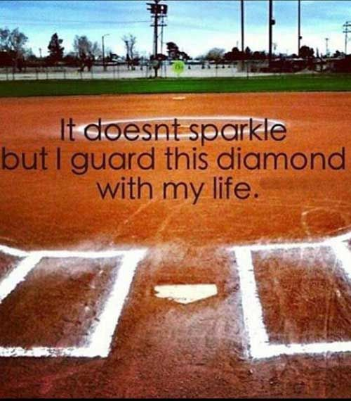 21 Inspirational Softball Quotes about teammates, pitchers, life and for shirts. I love these!