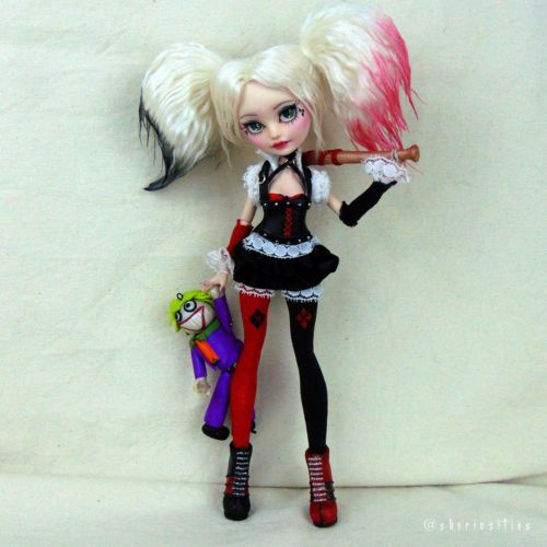 Why is a raven like a writing desk? — havres7784: Custom OOAK Ever After High Doll...