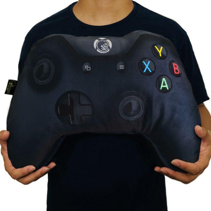 X-Pillow Box: Gamer Cushion Control Xbox One Black Geek Video Game