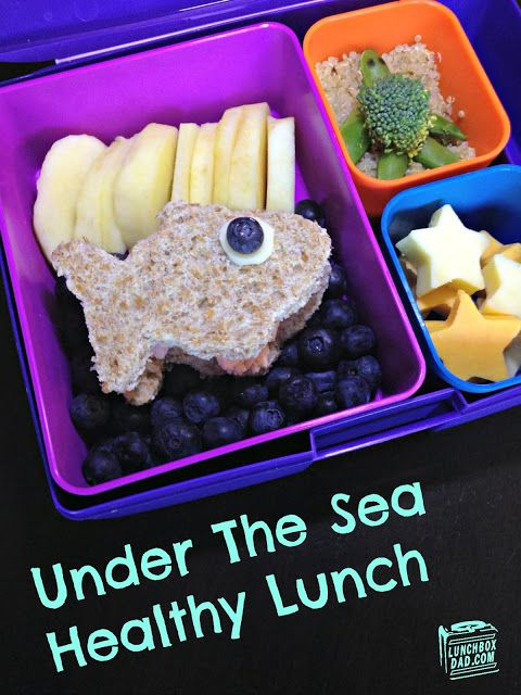 Watermark Under The Sea Healthy Lunch
