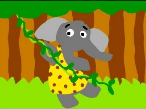 The elephant song!  I periodically get this stuck in my head...and the kids love it too :)
