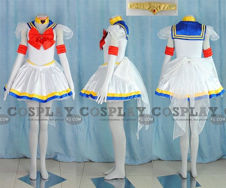 Sailor Moon Costume from Sailor Moon Super S - Tailor-Made Cosplay Costume
