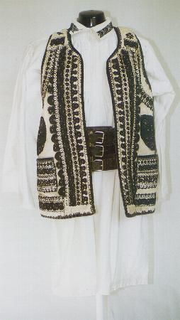 Men's costume from Transylvania