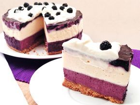 Tarta mousse de moras y chocolate blanco