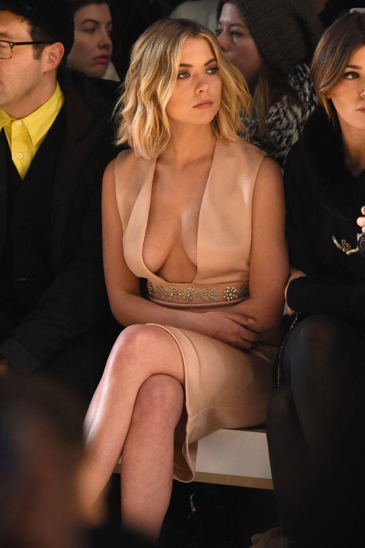 Ashley Benson in lovely dress