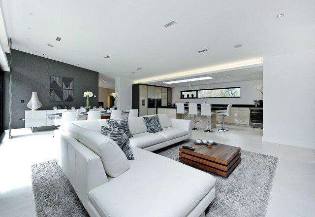 Modern Area Rugs For Living Room Modern White Living Room