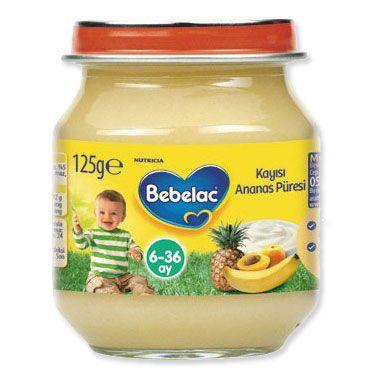 Bebelac Kavanoz Maması Kayısı Ananas Püresi bebeklerin 6. ayından sonra kullanılan ek gıda alternatifidir. Bebelac Kavanoz Maması Kayısı Ananas Püresi içersinde bulundurduğu Yoğurt, ananas suyu, kayısı, muz ve C vitamini sayesinde bebeğinizin gelişimine yardımcı olur. Bebelac Kavanoz Maması Kayısı Ananas Püresi bebeğinizin yeni tatlarla tanışmasına yardımcı olan bir Bebelac Kavanoz mamasıdır.