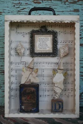 Charming shadow box