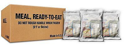 XMRE LITE Kit, 12 Case No Heaters (Meals Ready to Eat) Military Grade