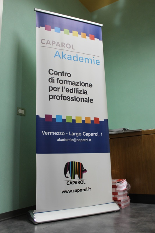 Caparol Akademie è l'avanzatissimo centro di formazione messo a punto da Caparol presso la grande sede di Vermezzo, in provincia di Milano.