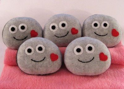 Pet rocks - Inspiration