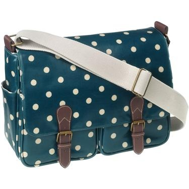Ohhh I love the spotty dots so much. Cath Kidston Saddle Bag and it is onsale!! WANT!