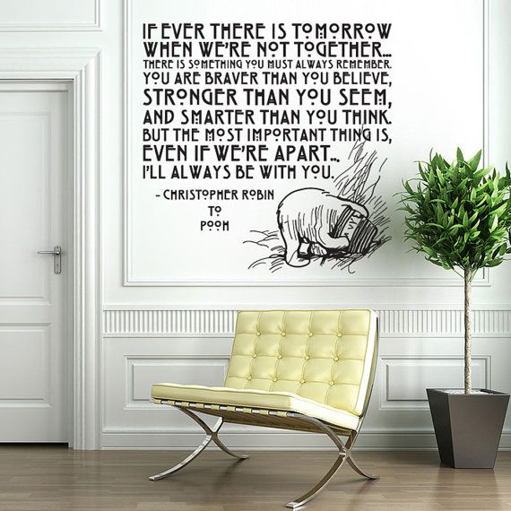 Christopher Robin quote.