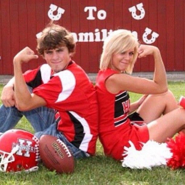football players dating cheerleaders