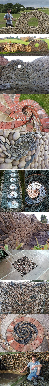 Wunderschöne Strukturen