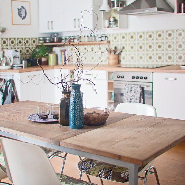 Die besten 25+ Arbeitsplatte küche selbst gestalten Ideen auf - farbe fur kuche aktuellen tendenzen