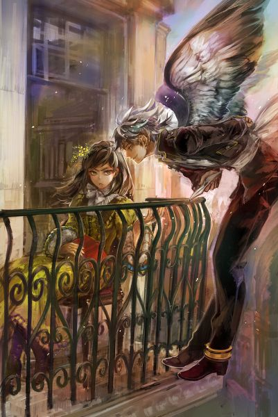 Angel book series and anime on pinterest