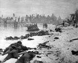 The Battle of Tarawa was fought November 20-23, 1943, during World War II (1939-1945).