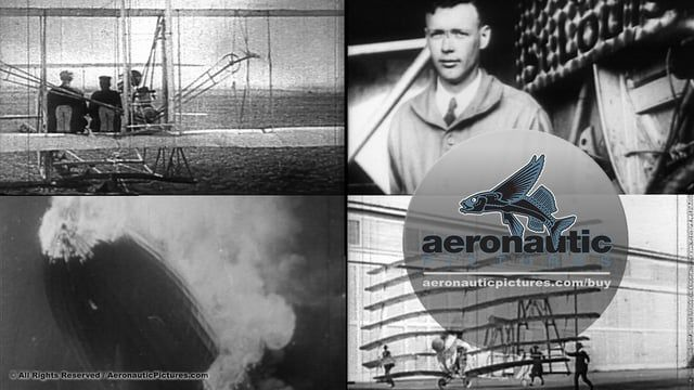 Early Flight Aviation Stock Footage Collection Digital Downloads > http://aeronauticpictures.com/buy/download/early-flight_stock-footage_collection_download/   Royalty Free Aviation Stock Footage: Forty-Four (44) Early Flight Stock Footage in SD for quick digital download at great royalty free prices! Archival stock footage exploring the history of aviation from 1900 to the 1930s – includes the Wright Brothers and the Hindenburg (LZ-129).  Early Flight Stock Footage Download Specificatio...