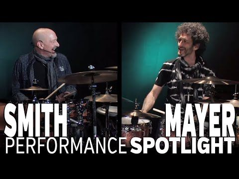 Steve Smith and Jojo Mayer: Drum Battle! - YouTube