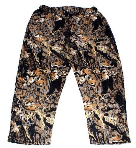 """Камуфляжные брюки из флиса """"Осенний лес"""""""