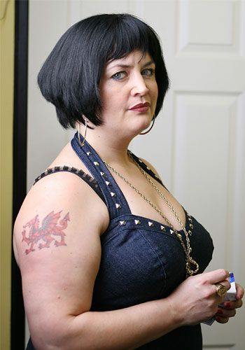 """Gavin & Stacey"" - Ruth Jones as Nessa. ""Oh, what's occurrin'?"""