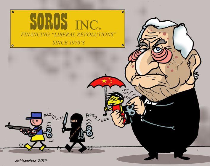 George Soros Finally Suspends His Lifelong War Against Russia | Zero Hedge