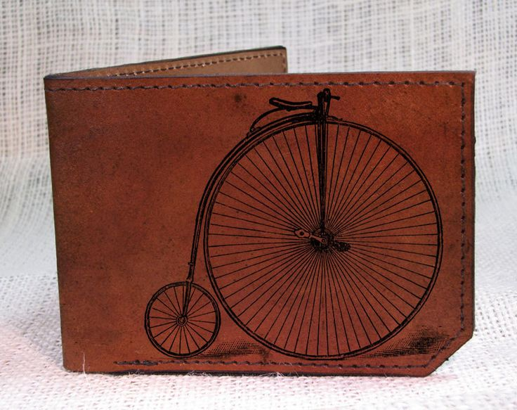 penny farthing wallet::backerton, via Etsy.