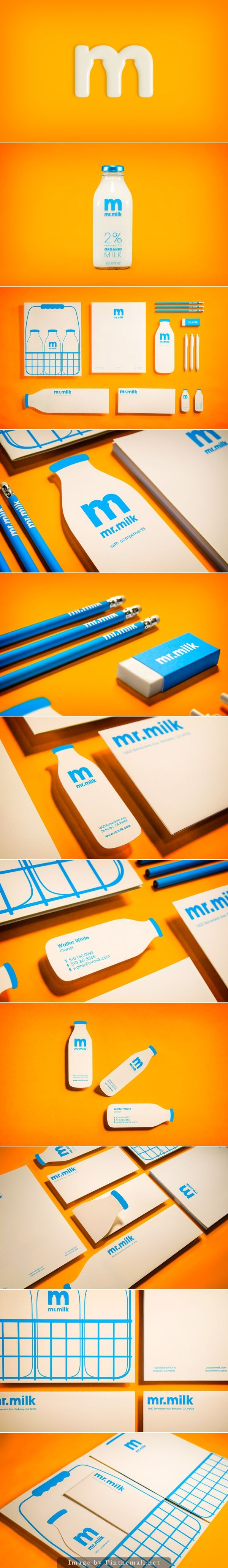 Mr. Milk Branding, Graphic Design, Packaging