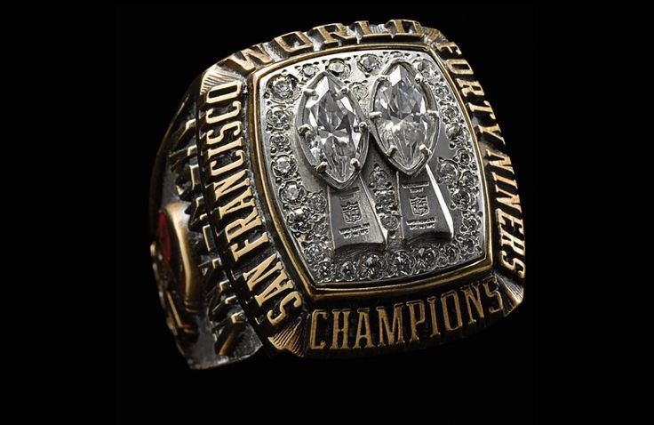 Super Bowl XIX - San Francisco 49ers   48 Mind Blowing Photos Of Every Super Bowl Ring Ever