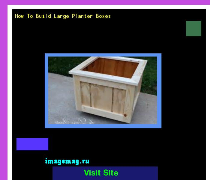 Large Corner L Shaped Wooden Garden Planter Box Trough: 1000+ Ideas About Large Planter Boxes On Pinterest