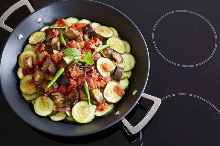 Padella per paella in alluminio @LeCreusetItalia #food #cucina #ricette #verdure #veg #healthy #healthyfood