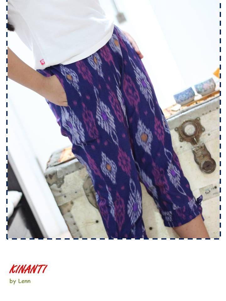 7/8 Tenun Pants
